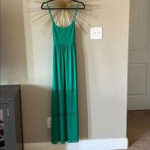 Susana Monaco Green Maxi Dress